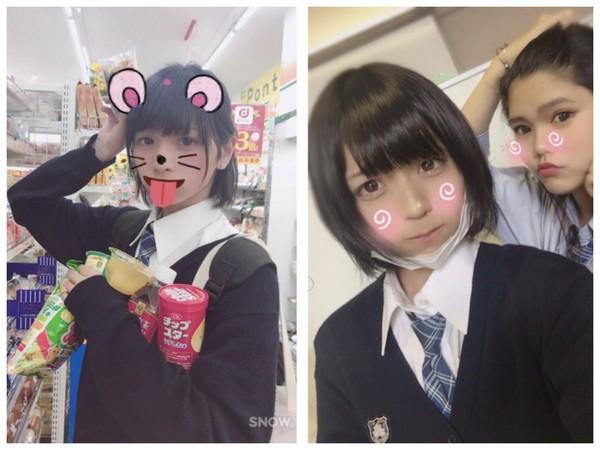 ▲日本最可愛高中生竟然是男生(圖/翻攝自ginsyamu推特)