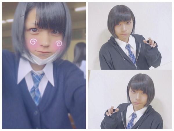 ▲日本最可愛高中生竟然是男生(圖/翻攝自ginsyamu IG)