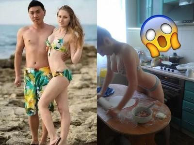 太經典!烏克蘭嫩妻「內衣包水餃」紅3年 網友搶買機票