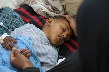 ▲葉門霍疫情亂嚴重。(圖/翻社自聯合國兒童基金會官網,下同)