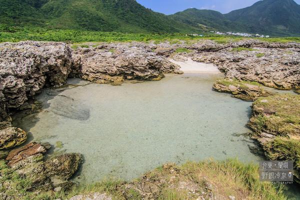 蘭嶼野銀冷泉。(圖/臉書富嵃 享旅行 ・ 享攝影提供)