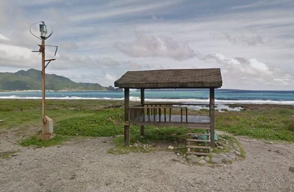 蘭嶼野銀冷泉。(圖/翻攝自Google街景地圖)