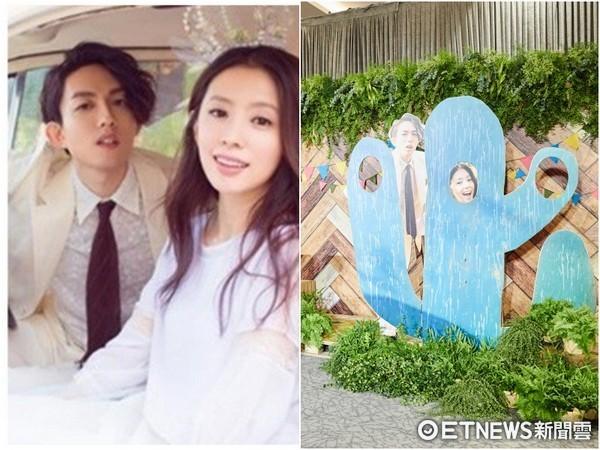 ▲林宥嘉婚禮佈置超萌。(圖/華研提供)
