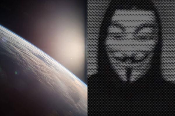 跨國駭客組織「匿名者」:NASA將宣布發現外星人