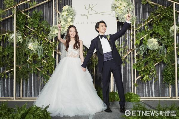 ▲林宥嘉丁文琪婚禮。(圖/華研提供)