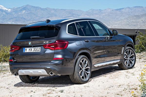 ▲360匹「M」性能字號上身!BMW X3大改款定裝亮相。(圖/翻攝自BMW)