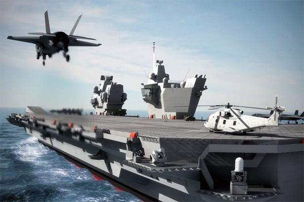 ▲▼ 「威爾斯王子號」(HMS Prince of Wales)。(圖/英國皇家海軍官網)