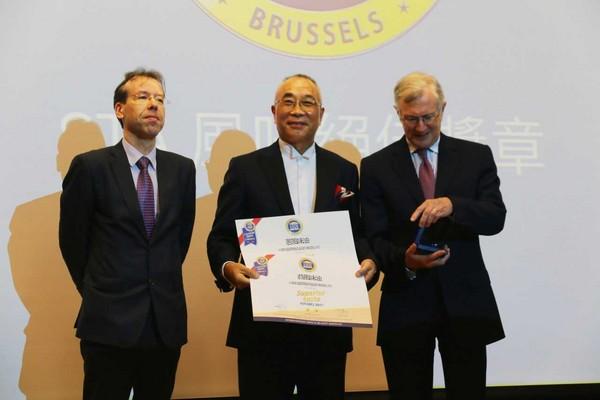 「小磨坊」蔥、蒜風味油 獲國際『iTQi』獎章(圖/小磨坊提供)