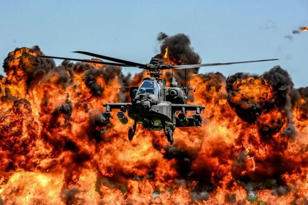 ▲▼阿帕契直升機。(圖/翻攝自U.S. Army粉絲專頁)