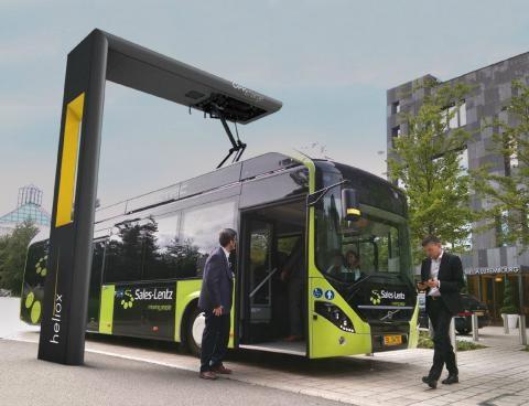 ▲荷蘭公司Heliox開發了一項新技術,能讓電動公車在2-5分鐘內充電完成,這有效的解決了讓電動公車遲遲無法普及的充電問題。(圖/翻攝自歐盟網站。)