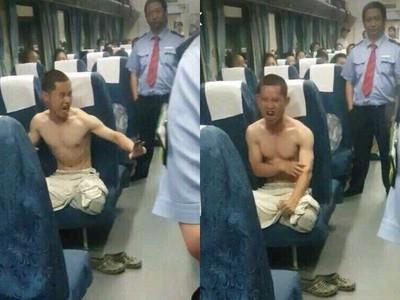 逃犯擺出「九陽神功起手式」拒捕 警察笑場:要我認真嗎?