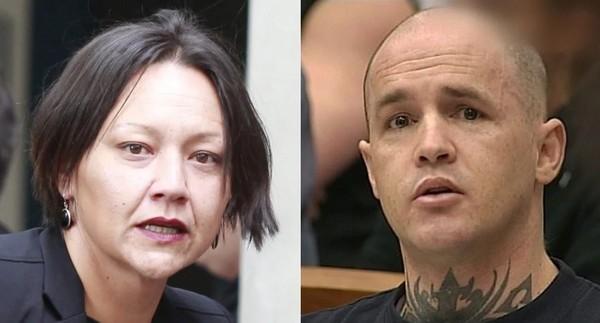 ▲▼ 性侵殺人犯里德在獄中與相愛的辯護律師莫瑞結婚。(圖/翻攝自紐西蘭先驅報)