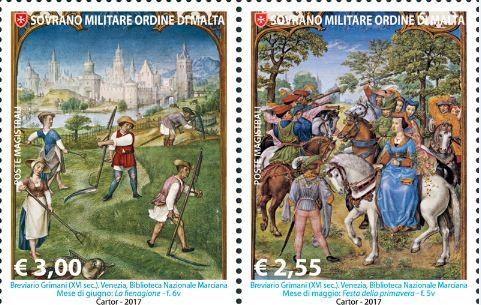 ▲▼馬爾他騎士團(The Sovereign Military Order of Malta)郵票。(圖/翻攝自Order of Malta官網)