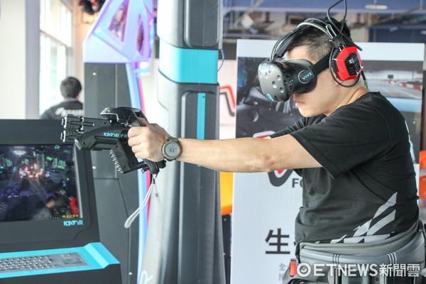 ▲▼全台灣最大、佔地超過250坪的虛擬實境體驗館—VR Formula(VR方程式),預計7月1日正式開幕  。(圖/記者黃士原攝)