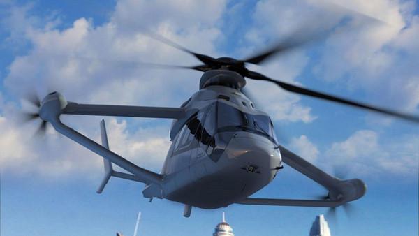 ▲超跑級直升機飆471KM!空中巴士推「Racer」概念。(圖/翻攝自Airbus)