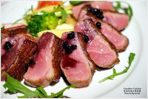 Goodies Cuisine好米亞義法餐酒館。(圖/大口)
