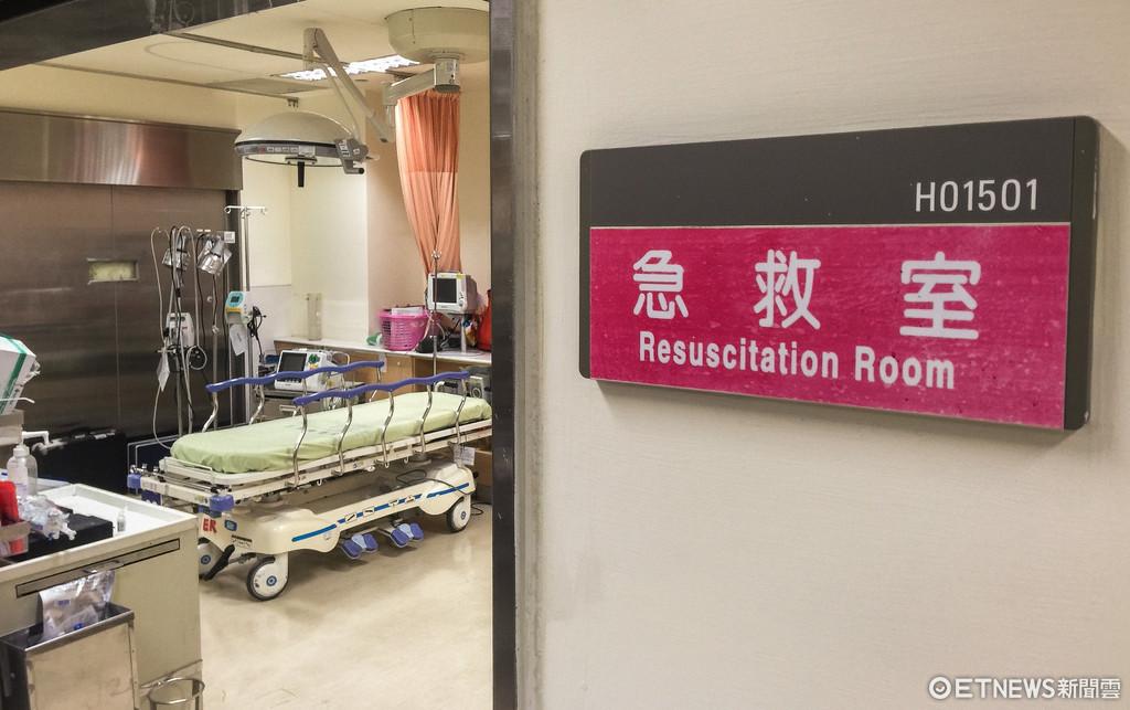 醫院,急救室,急救,三軍總醫院,三總(圖/記者張一中攝)