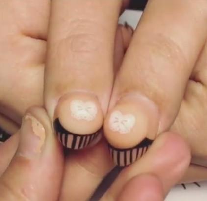 「指甲巨乳」藝術風靡腦妹,跟我說這是膿包還比較相信