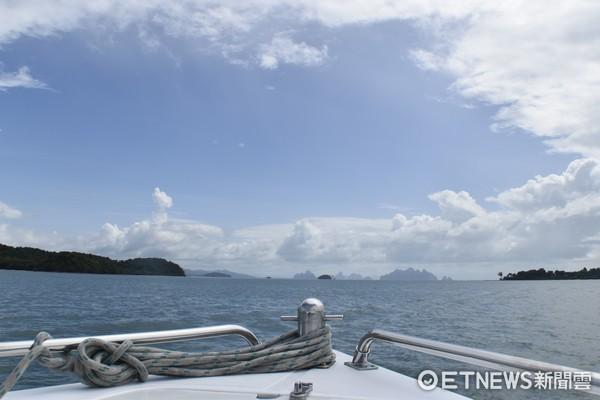 ▲攀牙灣,007島,考平甘島。(圖/記者陳涵茵攝)