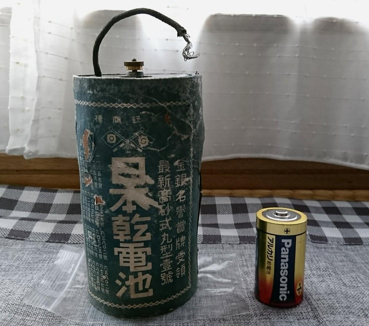 日本製造就是狂!70年前出廠電池,接上電現在還能用