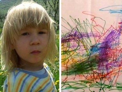 自閉兒生前塗鴉藏「死亡預言」 父崩潰:遺體就是在這找到的