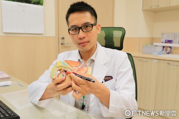 亞大醫院泌尿科主治醫師蕭子玄。(圖/亞大醫院提供)
