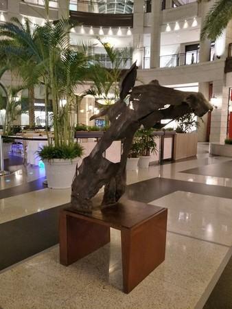 ▲林良材於寶麗廣場BELLAVITA舉辦70週年回顧展。(圖/寶麗廣場提供)