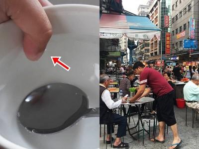 小吃攤店員手指插熱湯!網不意外:指甲垢是台灣美食精華