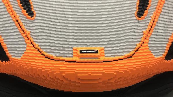 ▲車迷一起組麥拉倫「1:1」樂高!總量竟比超跑本尊更重(圖/McLaren)