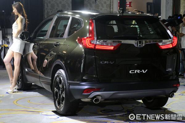 ▲18萬台SUV銷售冠軍!Honda第五代CR-V登台91.9萬起。(圖/記者張慶輝攝)