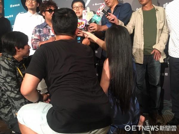 ▲▼丁國琳出席《大佛普拉斯》台北電影節開幕片首映會 。(圖/記者洪文攝)
