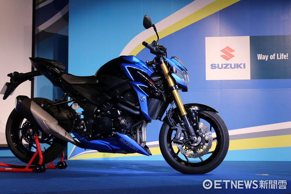▲12.8萬買小阿魯!Suzuki五款重機登台 價格讓車迷跪了。(圖/記者張慶輝攝)