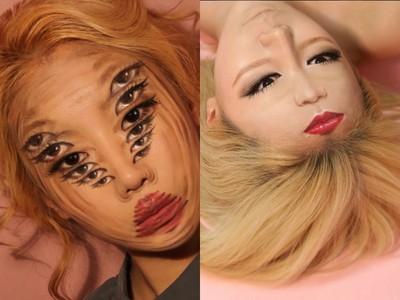 PS化妝術把「五官複製貼上」 韓妹教妳用6雙電眼勾魂