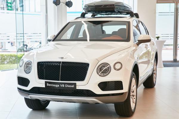 ▲1080萬最貴柴油休旅!賓利Bentayga Diesel在台發表。(圖/Bentley提供)