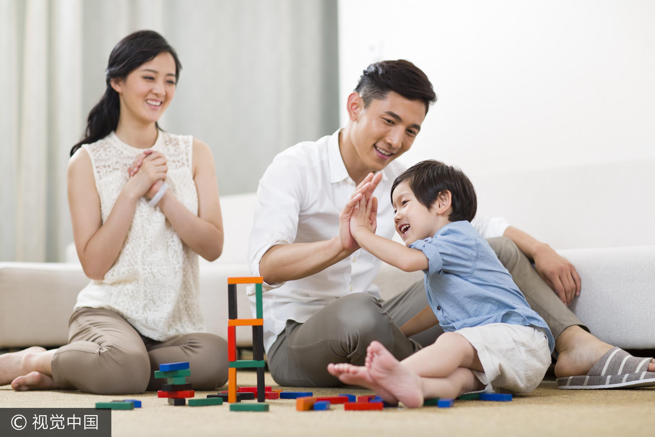 ▲聊是非用圖,家庭,親子,溫馨(圖/視覺中國CFP提供)