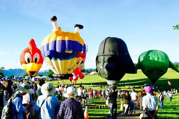 ▲2017台東熱氣球嘉年華今登場。(圖/翻攝自臺灣熱氣球嘉年華-Taiwan Balloon Festival粉絲專頁)