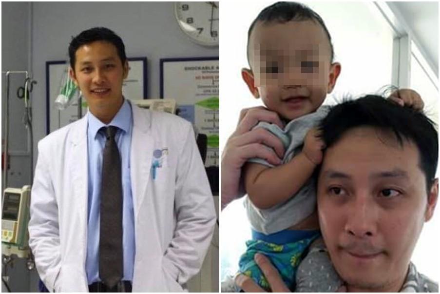 ▲印尼麻醉科醫師陶菲克(Stefanus Taofik)過勞猝死。(圖/翻攝自Stefanus Taofik臉書)