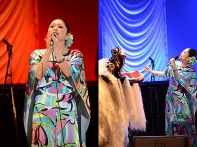 夏川里美唱5首中文 舞曲也駕馭