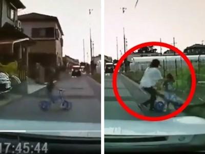 小孩衝出馬路險被撞!網戰「虎媽甩耳光」是動粗還是教育?