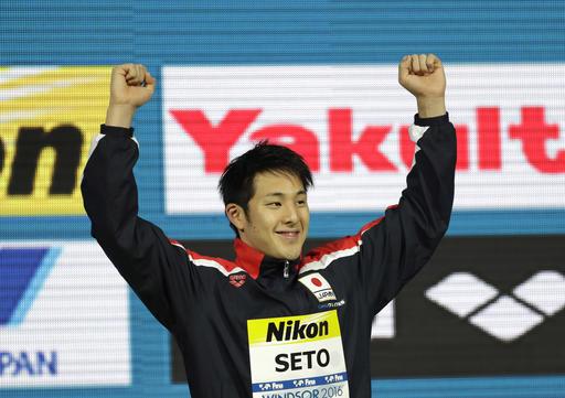 出軌泳將瀨戶大也豪言 挑戰「飛魚」菲爾普斯世界紀錄