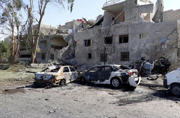 ▲敘利亞發生3起爆炸案。(圖/路透社)