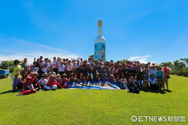 ▲金門高粱酒廠-活動參訪 。(圖/記者林世文攝)