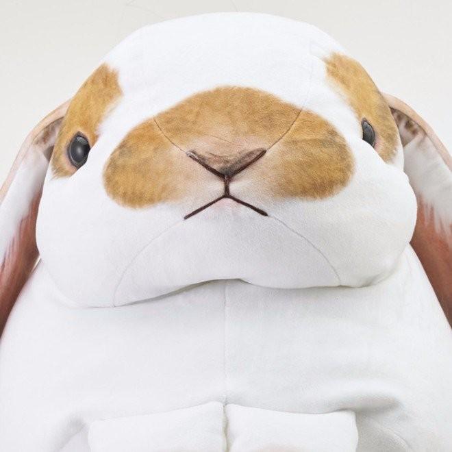 ▲超大兔兔抱枕(圖/nypost、felissimo )