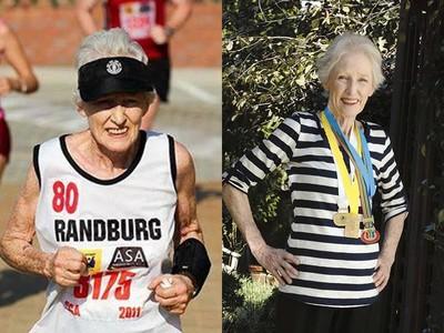 85歲嬤2小時跑完半馬 練出「回春腿」擺脫骨質疏鬆