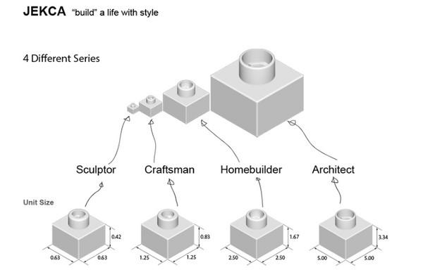 ▲樂高、貓咪(圖/JEKCA - Building Blocks for Kidults)