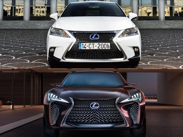Lexus CT200h後繼有「車」?最新小型跨界SUV「UX」10月登場(圖/翻攝自Lexus)