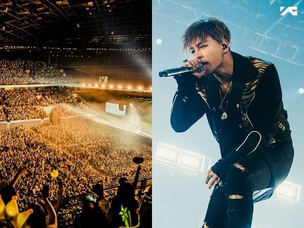 ▲BIGBANG太陽把世界巡迴演唱會當論文發表。(圖/翻攝自BIGBANG臉書)