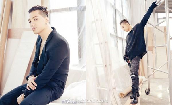 ▲太陽登新加坡《T Magazine》七月號封面(圖/翻攝自FashionModels微博)