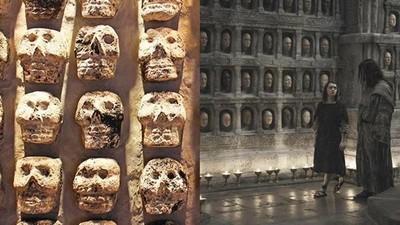 676頭顱獻祭太陽神!阿茲特克驚現「千面神牆」…架上都小孩女人
