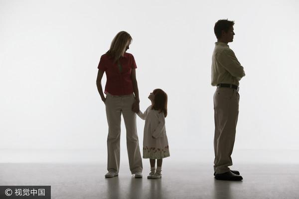 ▲家庭,親子,離婚。(圖/視覺中國CFP)